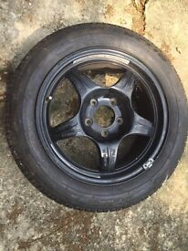 Michelin spare tyre and wheel