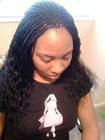 AFRICAN BRAIDING HAIRSTYLE,  SEW IN HEAD FOR VERY GOOD PRICE