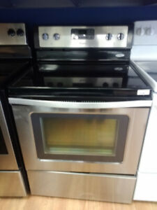 """30"""" Stainless Steel Stove"""