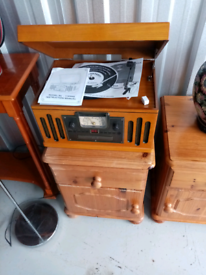 Retro 4 in 1 stereo system