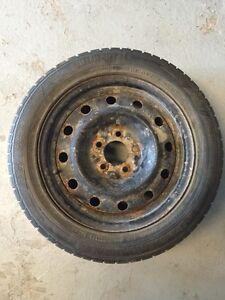 205 55 16 pneus hiver Continentale