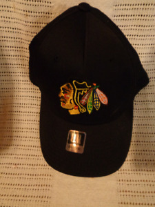 Brand New With Tags Chicago Black Hawks Reebok Hat