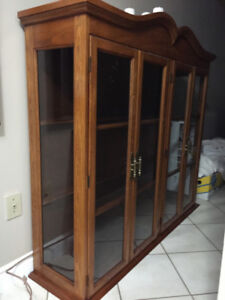 Range Hood, China Cabinet, Dining Room and Kitchen lights