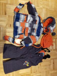 Manteaux d'hiver pour garçon 12 mois à 3 ans
