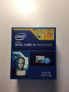 Intel Core i3-4170 CPU 3.7GHz 5.0GT/s 3MB LGA 1150