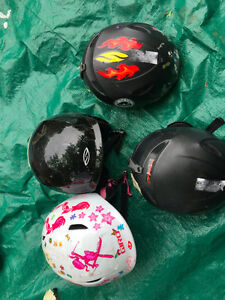 4 kids Ski Helmets $20 each