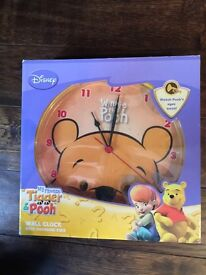 Winnie The Poo Wall Clock