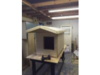 Dog kennel (insulated)
