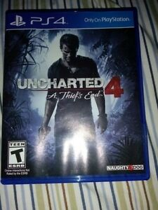 Uncharted 4 A Thief's End $40 OR trade for FF XV plus cash $