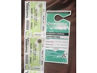 Creamfields two tickets 3day camping