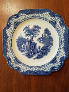 Adams Landscape China Plate