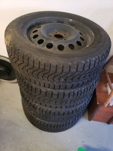 5×114.3      225/60r17 winter tires with rims