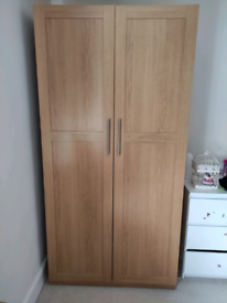Large IKEA Wardrobe in Good Used Condition