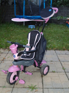 Smart Trike 3 en 1 tricycle pour fille