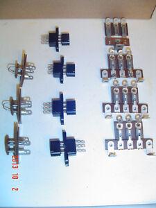5 CIRCUIT BREAKERS, 5 A/C RECEPTACLES, 11 PIN/SOCKETS & GE-1891