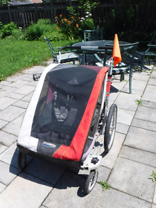 Double Chariot Cougar 2 bike trailer/stoller