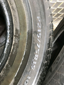 Summer tires for sale 215/75r15 195/70/r14