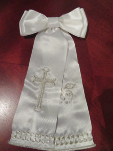 First Communion sash for boys