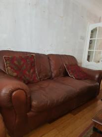 FREE 2Leather sofas free.