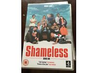Shameless DVD series 1-5