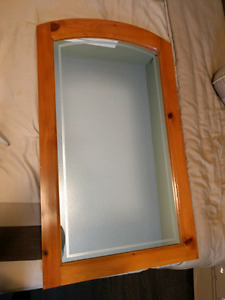 Mirror with Solid Pine Frame