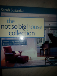"Book set:  ""The Not So Big House Collection"" by Sarah Susanka"