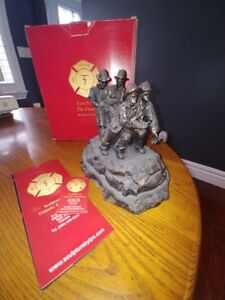 Firefighter Bronze Statue - from the Timothy Schmalz Collection