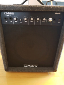 Guitar amp - 50 watts