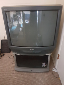 36inch Sony TV and Stand