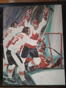 Poster 1972 Canada - Russia Series Paul Henderson Goal