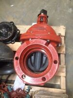 "Mueller 6"" gate valve and accesories"