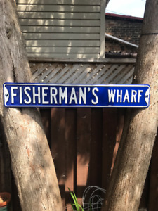 Heavy 18 Gauge Stamped Steel Street Signs