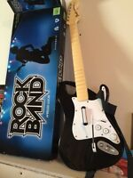 Rockband guitar for xbox 360