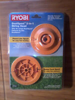 Ryobi DualSpool grass trimmer head kit