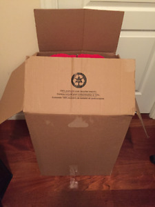 A large box of clothing-lots to choose from. Whole Box $45