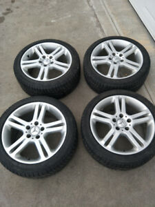 17 inch Mercedes mags