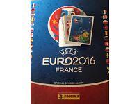 Panini Euro 2016 stickers swaps