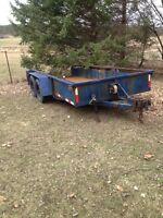 Tilt and load trailer
