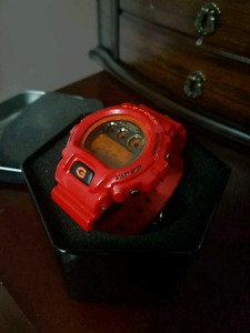 Brand New G Shock red watch. For Sale or Trade