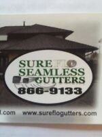Seamless Gutters and Leafguard