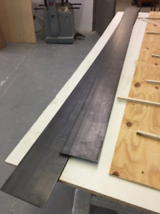 Steel Flat bar $20 each, 2 for $30, 3 for $40
