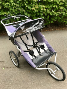 Running room double stroller