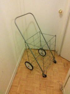Foldable shopping cart for sale  $7