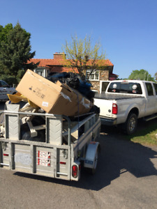 Pick Up + Trailer for Moving