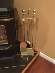 Fire place decor tools
