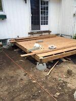 Deck repair& staining