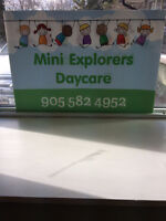 Oakville Daycare - Toddler and Preschool spots available