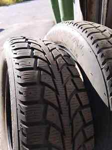 2x winter tire Uniroyal Tigerpaw 185/65r15 deux pneus hivers