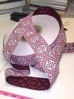 Ukrainian embroidery style trim