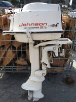 Johnson 5.5hp Outboard Motor - $250